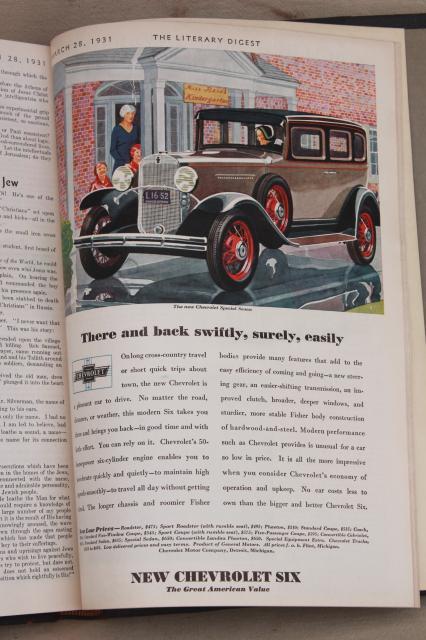 ARCHITECTUAL DIGEST 1931 - VOLUME 8 NUMBER 3 - RARE!