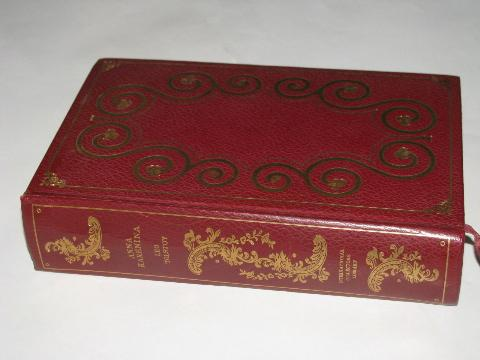 leather / gilt editions of classics, lot of assorted series & volumes