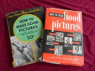 lot 1930s/50s vintage Kodak photography books,How to Make Good Pictures
