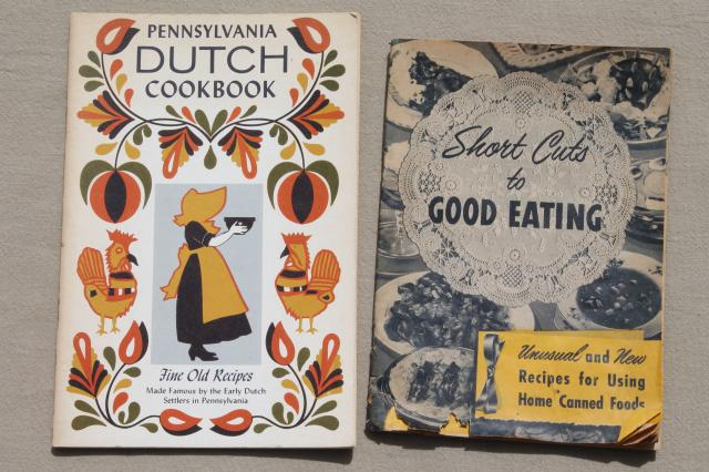 Lot 40s 50s 60s Vintage Cookbooks Recipe Booklets Advertising Cook Books Etc
