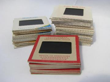 lot 45 35mm photo slides, vintage cars, hot rods & parade floats