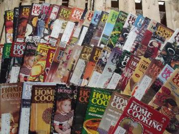 lot 70s vintage Women's Circle Home Cooking recipe magazines 40+ issues