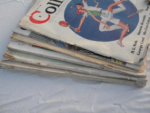 lot assorted 1930s vintage Collier's/Woman's Home Companion advertising+