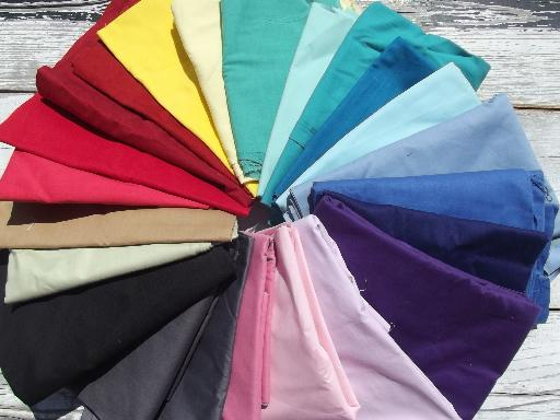 lot cotton and cotton blend quilt fabric solid colors, solids for ... : solid quilting fabric - Adamdwight.com