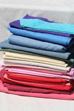 lot cotton & cotton blend quilt fabric solid colors, solids for quilting