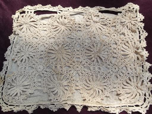 Crochet Pillow Shams Photos Table And Pillow Weirdmongercom