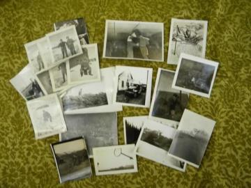 lot of 21 WWII soldier's photos from Alaska w/ Army censor stamps