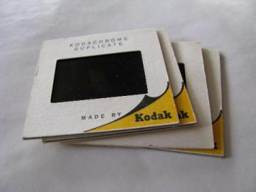 lot of 45 vintage commercial 35mm photo slides of Tangier, Gibraltar, Granada - the Alhambra