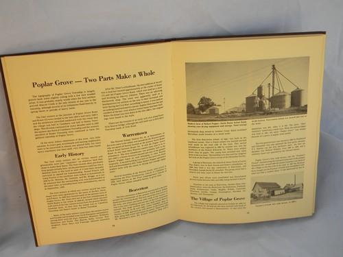 lot of 70s/80s books on local history and landmarks Boone County, Illinois