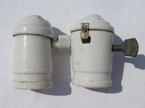 Porcelain Pendant Socket Pendant Light/lamp Sockets