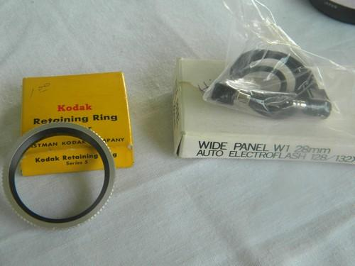 lot of assorted photography camera filters and parts Hoya, Kodak etc