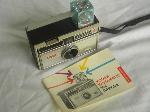 lot of vintage and retro brownie and kodak cameras Kodak Instamatic 110 Kodak Instamatic 104 Film