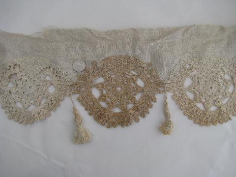 Crochet Pattern Central Edgings : CROCHET LACE INSERTION ? CROCHET PATTERNS