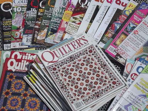 Image result for quilt magazines