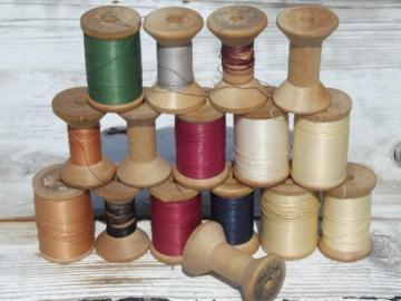 lot vintage antique heavy weight carpet thread, for rugs and leather work