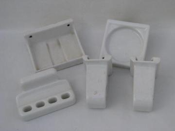 lot vintage deco porcelain architectural bath fittings