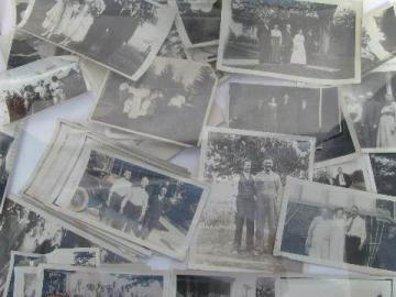 lot vintage photos, 1920-30s, farm life, soldiers & their cars & girls