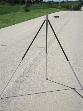 mid century vintage photography camera tripod for workshop or studio