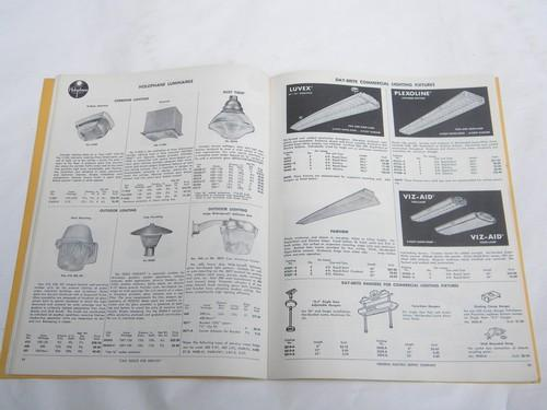 mid-century vintage architectural & industrial catalog, tools/lighting fixtures+