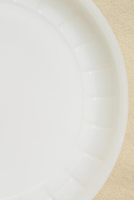 mid-century vintage milk glass soup u0026 sandwich sets oval tray plates u0026 mug bowls  sc 1 st  Laurel Leaf Farm & mid-century vintage milk glass soup u0026 sandwich sets oval tray ...