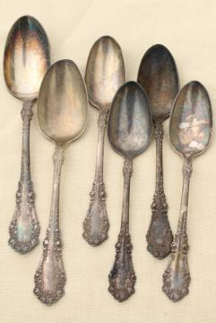 Antique Silverware Sets Silverplate Patterns And Vintage Stainless & Old Silver Serving Pieces | Migrant Resource Network