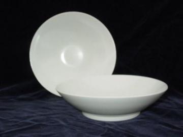 mod white melmac serving bowls