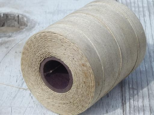 Natural Linen String Weaving Cord Yarn Or Heavy Leather