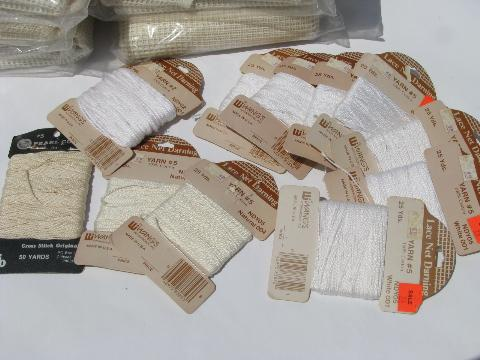 net lace material, fabric for net embroidery, to make embroidered curtains etc.