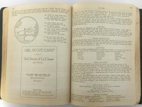 old 1930s childrens sports&games handbook playground/summer camp