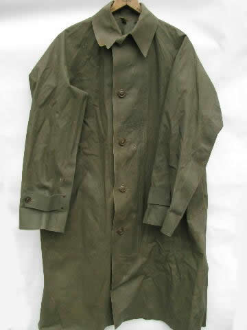 Old 1945 Olive Drab Wwii Dismounted Soldier Sentry Rubber