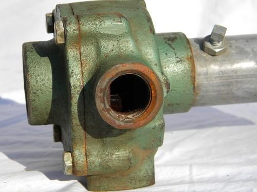 Tractor Pto Shaft Coupler : Old general hydraulics g farm sprayer pump w pto coupling