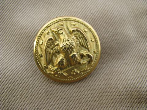 Navy old buttons us Uniform Buttons