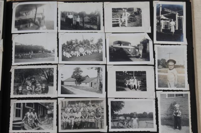 Old Album Of Vintage Photos 1930s Pictures Milwaukee Area