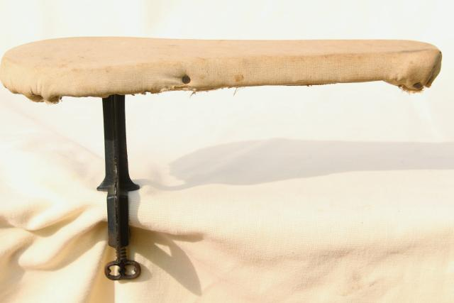 Old Antique Ironing Board Hardware Fold Down Drop Leaf
