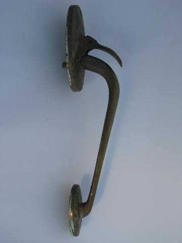 old architectural salvage hardware antique vintage solid brass