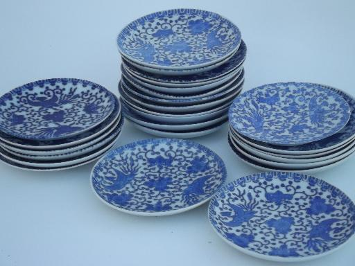 Blue and white china dinnerware quotes