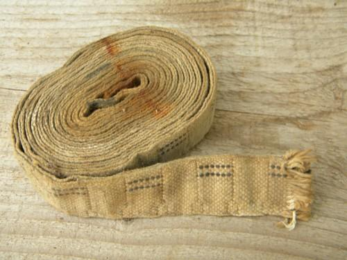 old cotton lamp wick for barn lanterns or kerosene lamps