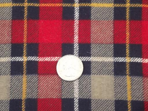 old flannel shirt tartan plaids cotton flannel fabric for quilting ... : quilting flannel fabric - Adamdwight.com