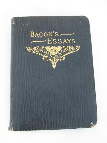 francis bacon essays of studies