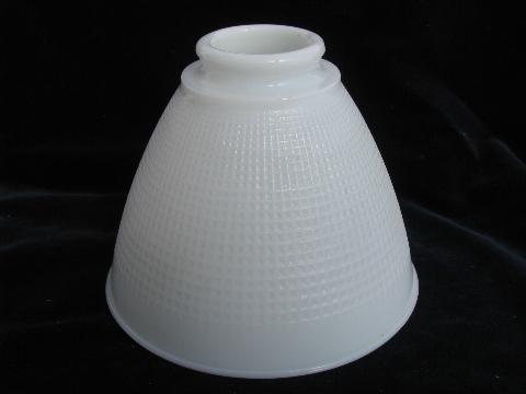 old white milk glass torchiere reflector light diffuser lamp shade. Black Bedroom Furniture Sets. Home Design Ideas