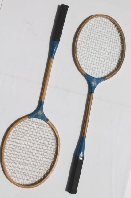 Old Wood Racquets Badminton Rackets Gatsby Vintage