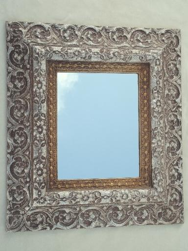french style silver photo frames