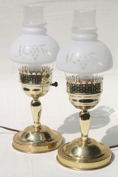 pair of vintage convertible table lamps, changes to pin up lamp wall sconce lights