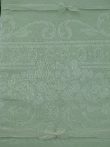 mint green damask cloth table linens tablecloth and napkins