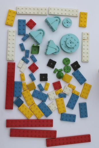 Pre Lego Vintage Plastic Bricks Building Toy Construction