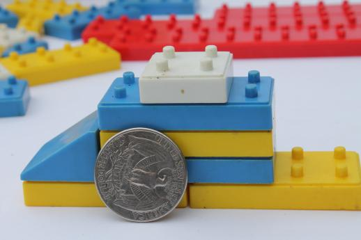 Pre Lego Vintage Plastic Bricks Building Toy Construction