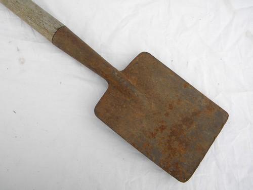 Primitive Old Garden Tool A Small Shovel Or Spade