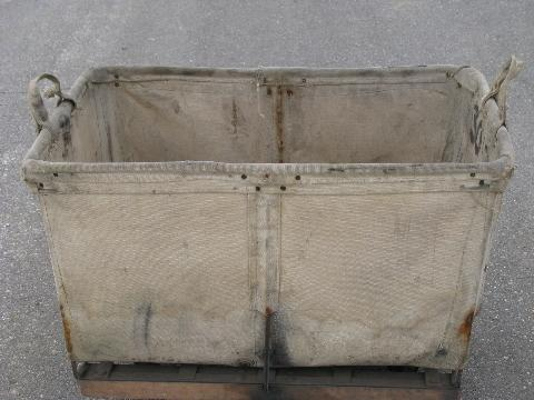 Or Factory Cart W Canvas Sides