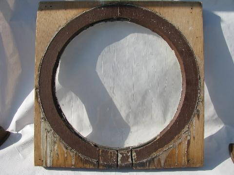 Round Wooden Picture Frame Image collections - origami instructions ...