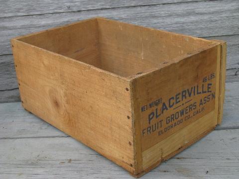Workbench Blueprints Wooden Fruit Boxes